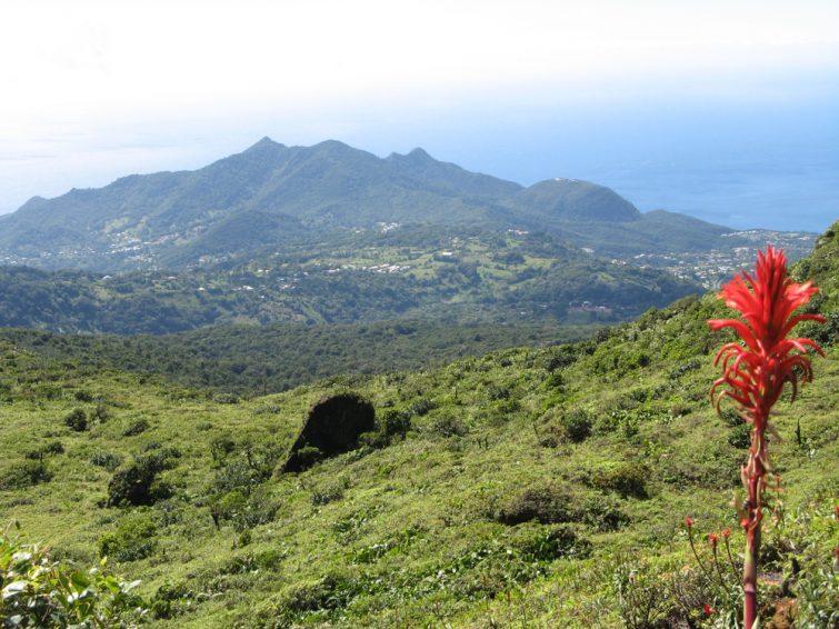 Volcan de la Soufrière, archipel de la Guadeloupe