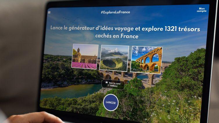 Générateur d'idées voyage Explore la France