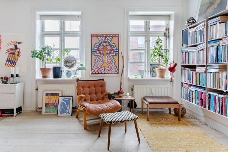 Airbnb dans le quartier de Nørrebro, Copenhague