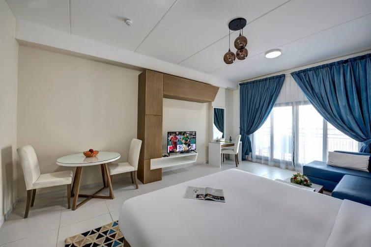 Appartement avec vue dans le quartier d'affaires de Dubaï