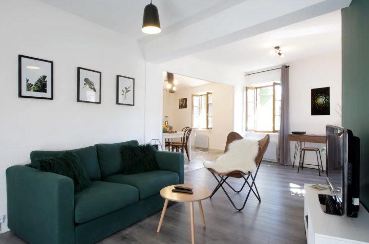 Appartement avec vue dans le centre de Carcassonne