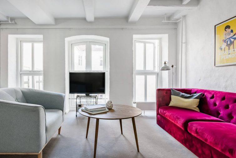 Appartement rénové dans le centre historique de Copenhague