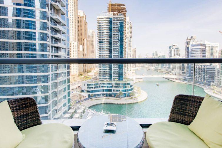 Appartement avec vue, Dubaï Marina
