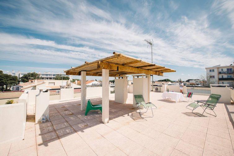 Appartement avec rooftop au Grau-du-Roi