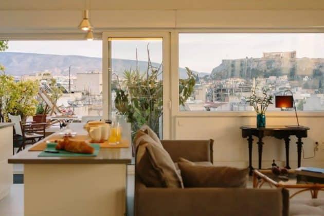 Découvrez les meilleurs Airbnb à Athènes