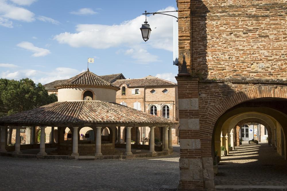Auvillar, village d'Occitanie, Tarn et Garonne