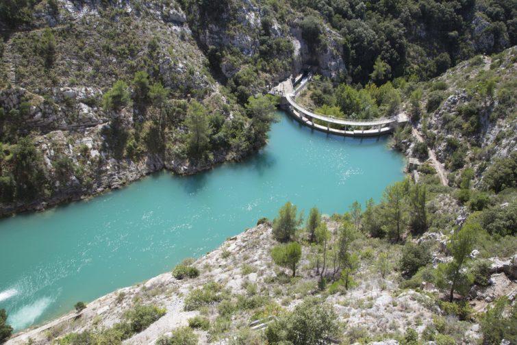 Le barrage de Bimont