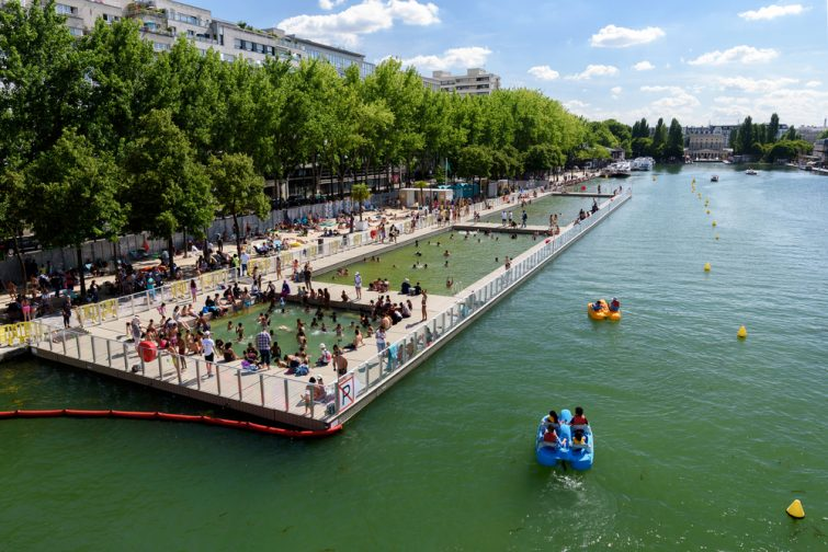 Bassin de la Villette, Paris