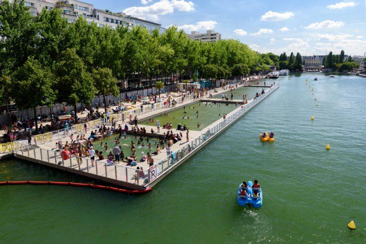 Bassin de la Villette, Paris
