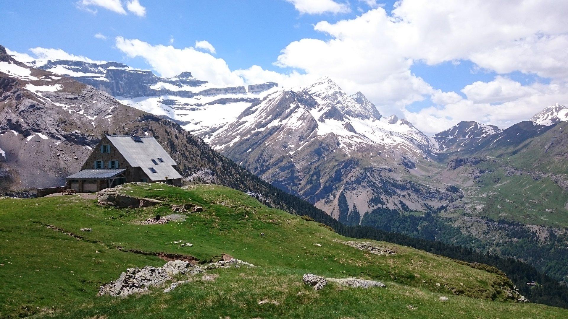 Refuge des Espuguettes dans le Parc national des Pyrénées