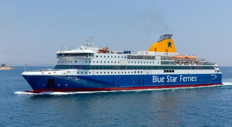 blue star ferries kéa