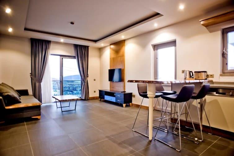 Maison moderne dans une résidence