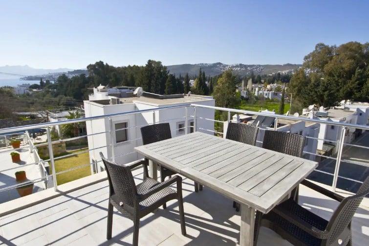 Maison avec terrasse panoramique