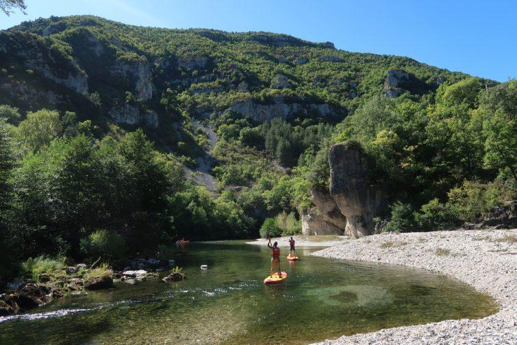 Canoë-kayak dans l'Aveyron