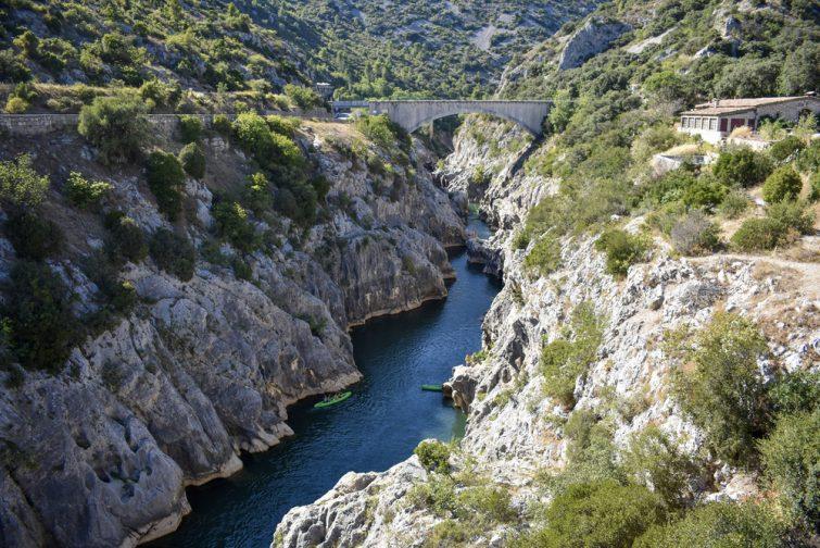 Les Gorges de l'Hérault et le Pont du Diable