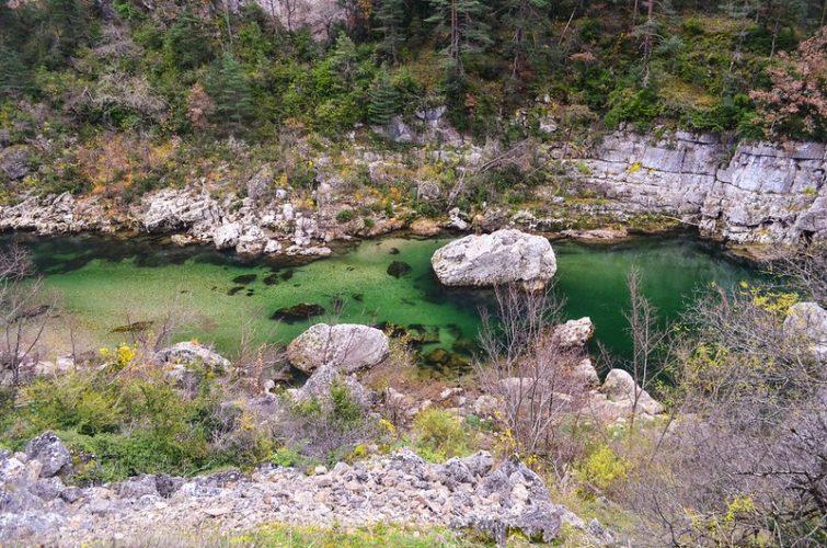 Canyoning dans les Gorges de l'Aveyron