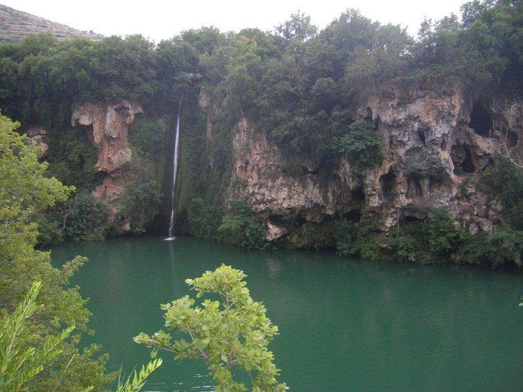 Cascade de la Baume, Aveyron
