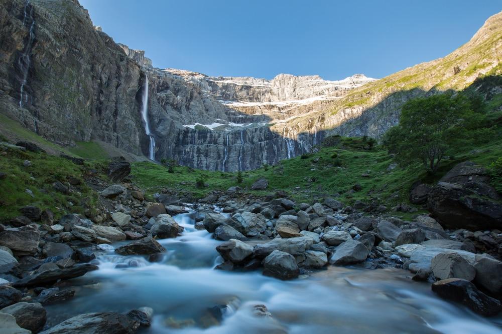La cascade de Gavarnie, parmi les plus belles cascades de France