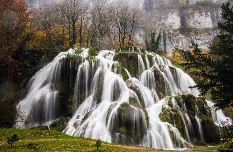 La cascade des Tufs, Jura, France