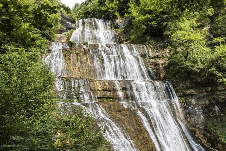 Les chutes du hérisson, Jura
