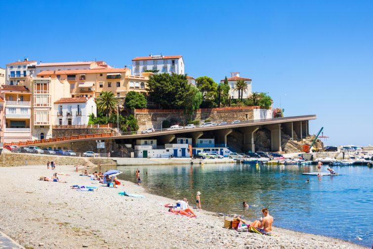 Plus beaux villages de Collioure : Cerbère