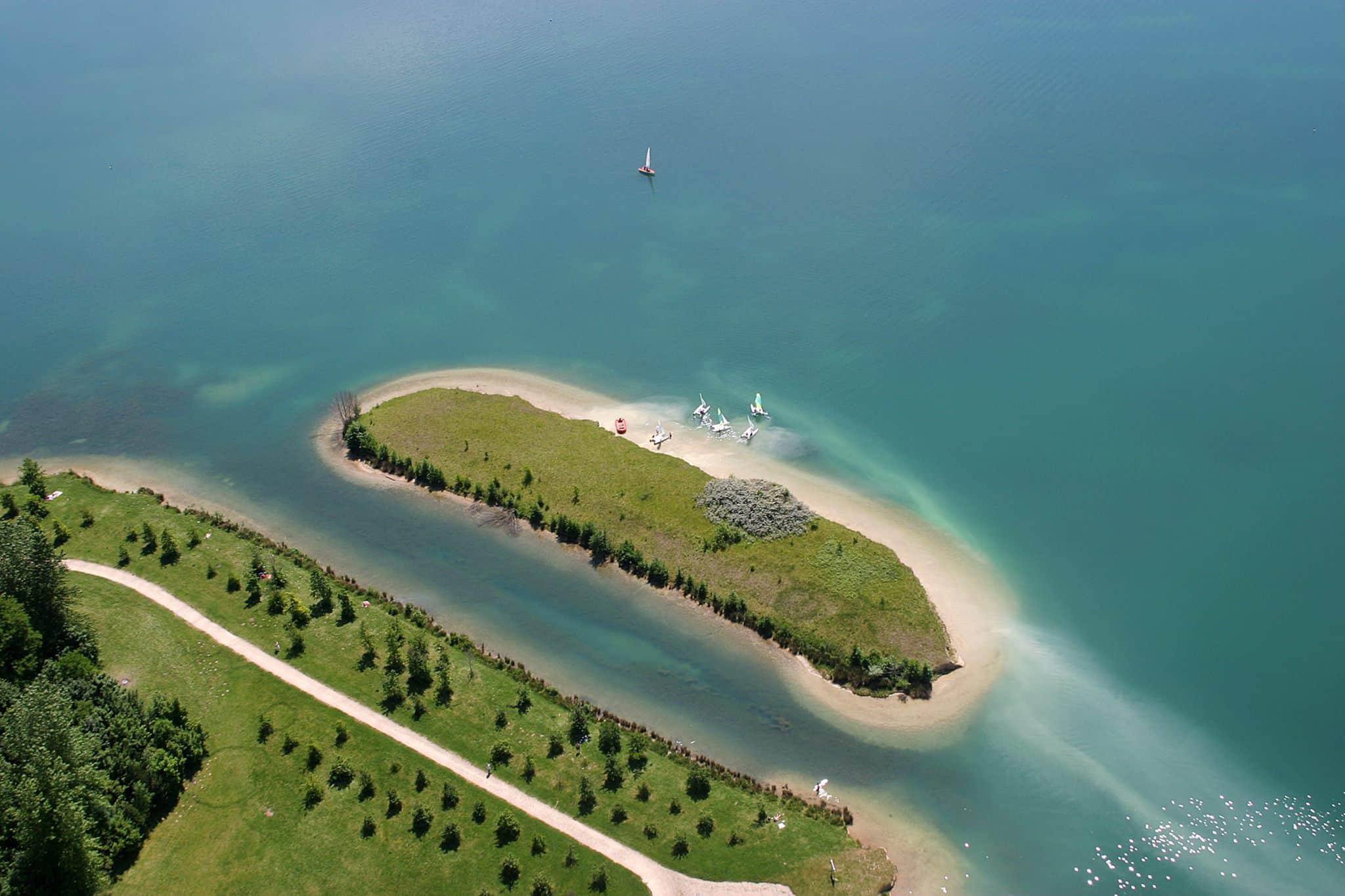 L'île aux Loisirs, Cergy Pontoise