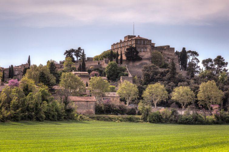 Le château d'Ansouis parmi les plus beaux châteaux du Luberon