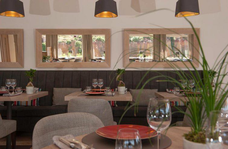 Restaurant Chez David, Le Clos de la Glycine, Roussillon