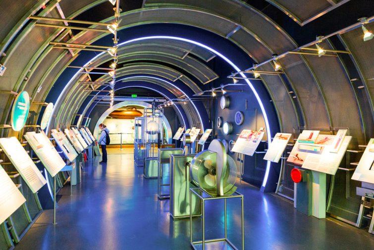 Aquariums de France : Cité de la Mer à Cherbourg