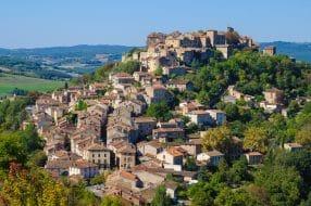 Ville médiévale de Cordes-sur-Ciel, France