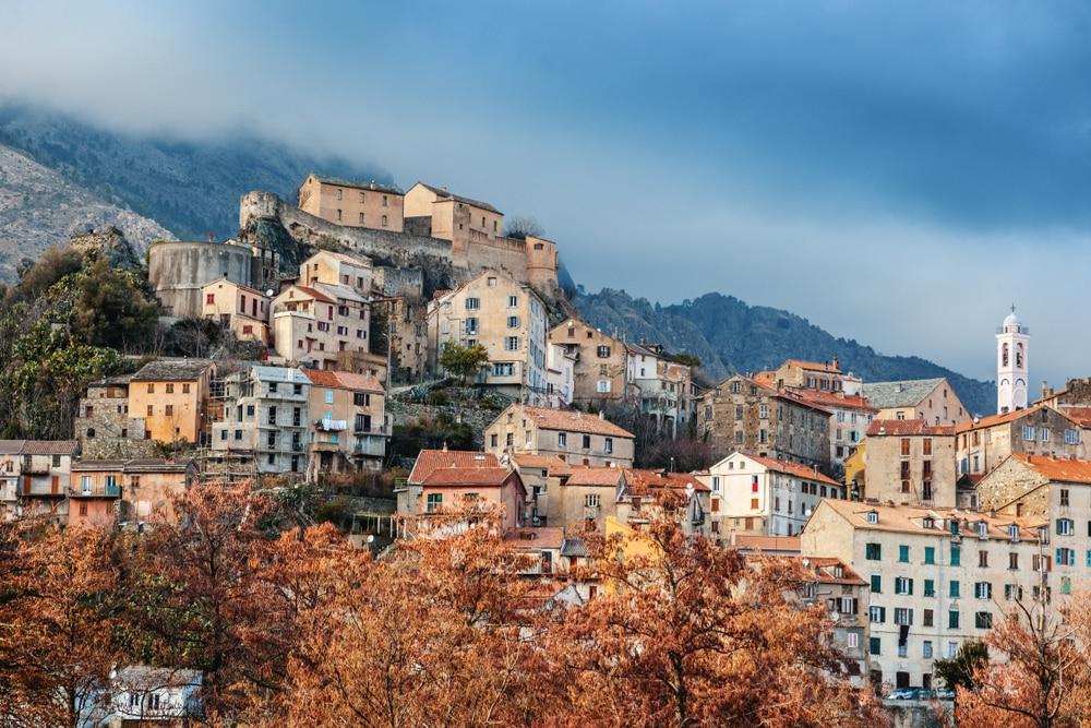 Corte, l'un des plus beaux villages de Corse