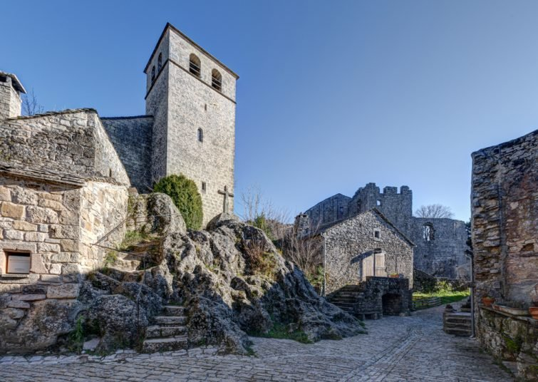 Village médiéval de la Couvertoirade, Aveyron