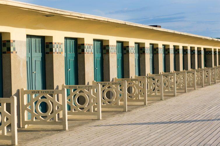 visiter Calvados - Cabines de bain de Deauville