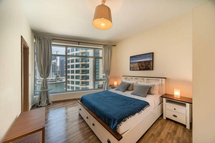 Airbnb avec vue sur Dubaï Marina