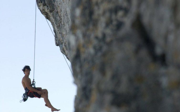 Escalade dans les Gorges de l'Aveyron