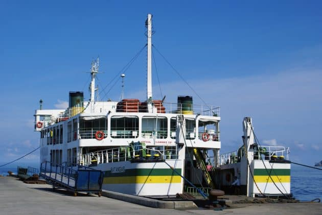 Comment se déplacer en ferry aux Philippines ?