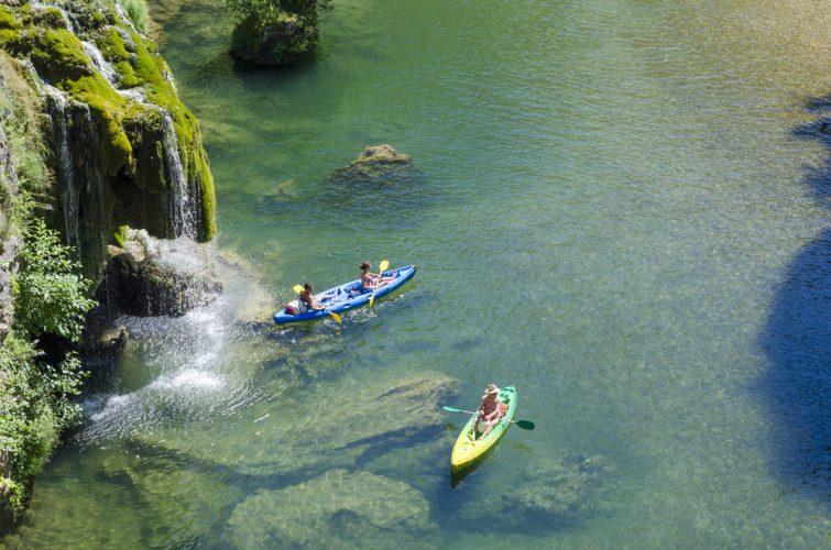 Canoë-kayak dans les Gorges du Tarn