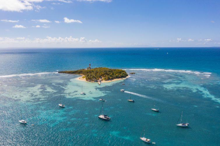 Visiter à Pointe-à-Pitre : la plage du Gosier