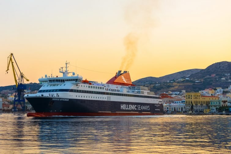 hellenic seaways kéa athènes