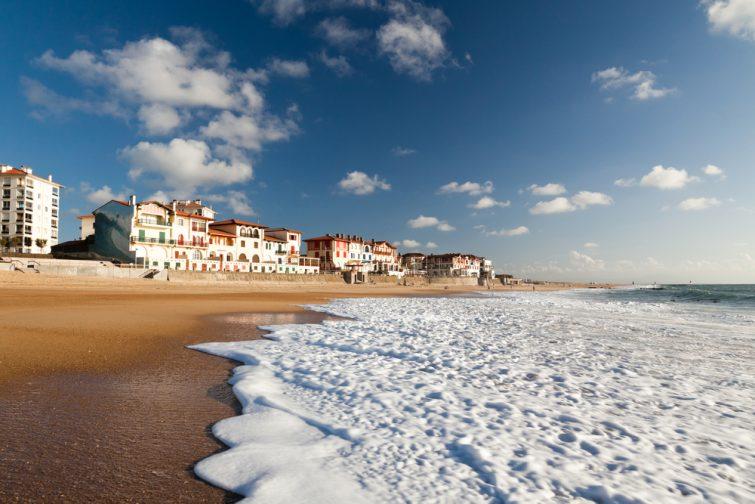 Réserver des vacances en France : Hossegor, plage