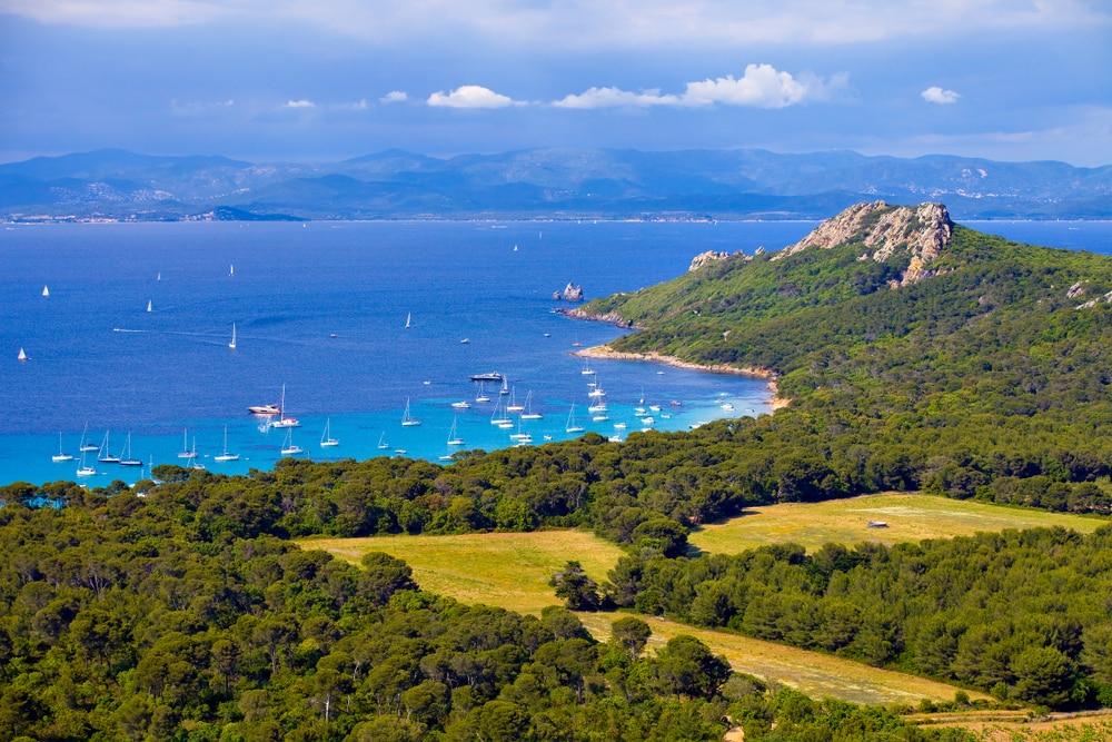 Porquerolles, l'une des îles françaises les plus populaires