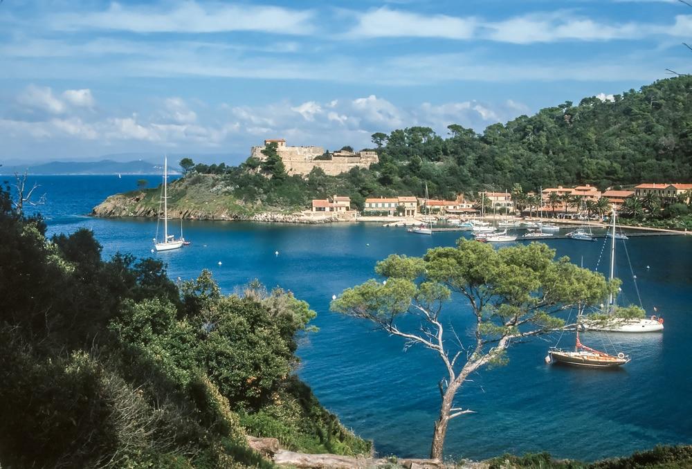 Port-Cros, une des îles françaises d'exception