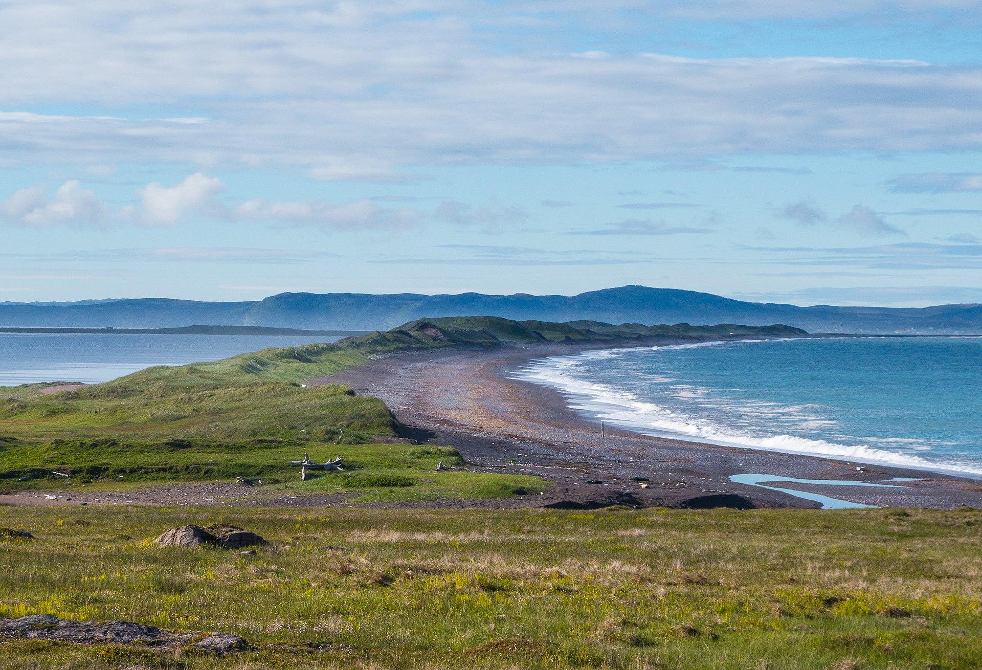 Visiter Saint-Pierre-et-Miquelon : l'isthme de Langlade