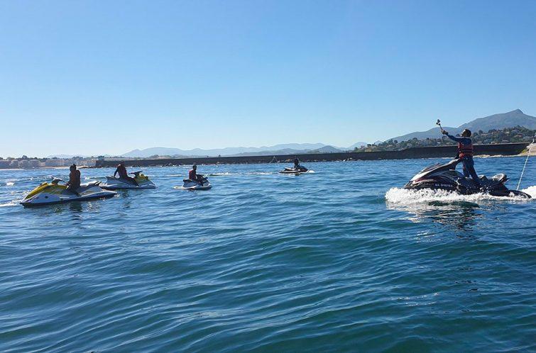 Activités outdoor à faire au Pays Basque : Jet ski