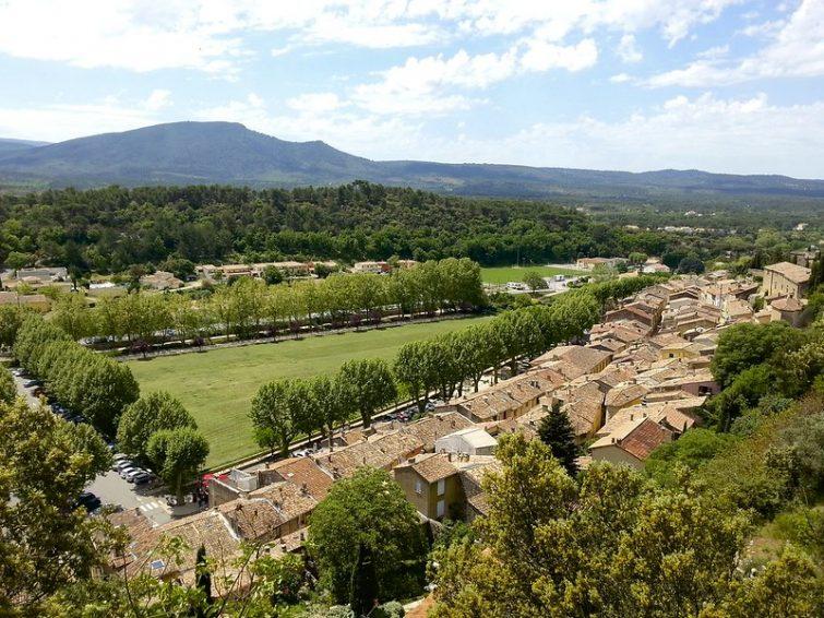 Le village de Jouques, Pays d'Aix