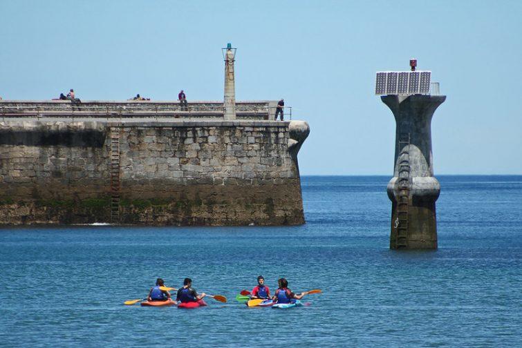 Activités outdoor à faire au Pays Basque : Kayak de mer
