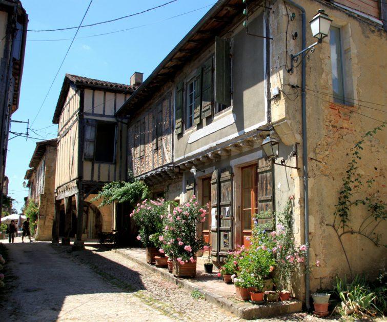 Village de Labastide d'armagnac