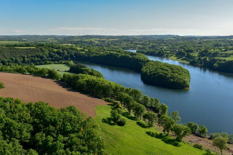 Randonnée au Lac du Lévézou, GR du Pays, Aveyron