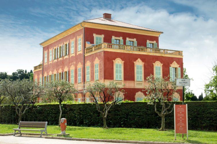 Le musée Matisse, Nice.
