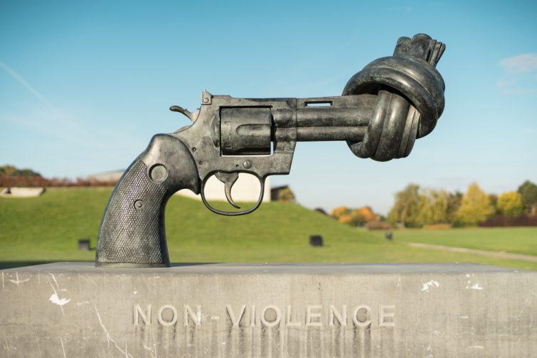mémorial caen non violence